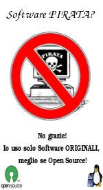 Software PIRATA? No grazie!